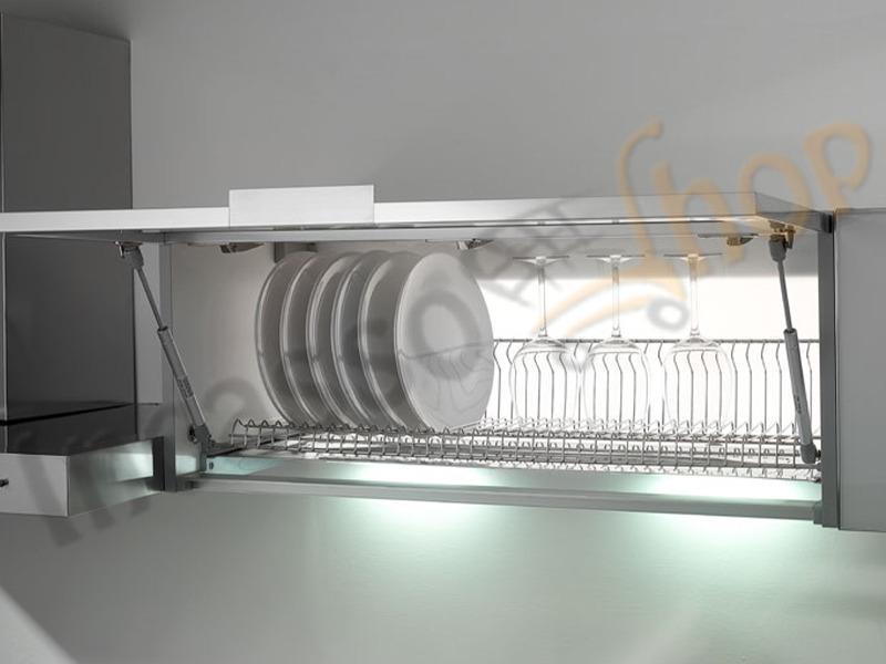 Scolapiatti vasistas inox kit inoxa 702 90xp3 da cm 90 griglia unica 602 vaschetta 502 - Scolapiatti da incasso ikea ...