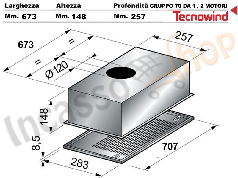 Awesome Cappe Aspiranti Per Cucina Da Incasso Contemporary - Home ...
