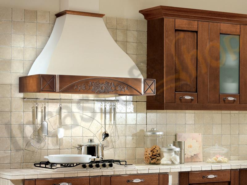 Cappe cucine rustiche cheap cappa chiara cm cucina - Cappe cucina leroy merlin ...