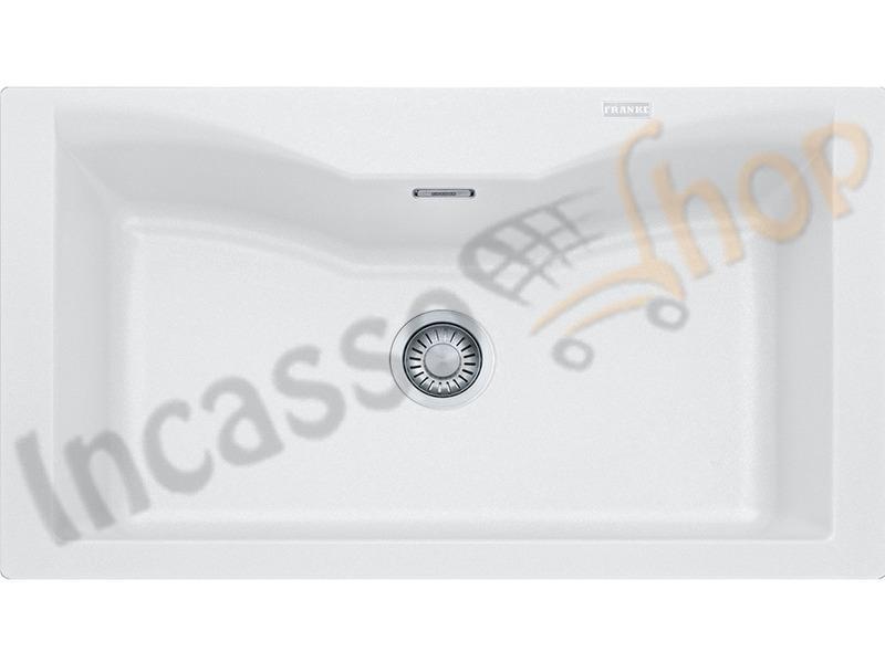 Accessori Lavelli Franke Acquario.Lavello Acquario Franke Cg610 N Bianco 9899966 86x50 1 Vs Bianco