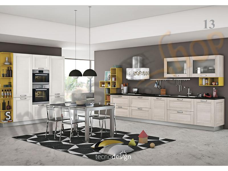 Cappa Cucina Moderna 76 TD004BC Dome Jasmine Inox-Vetro Bianco ...