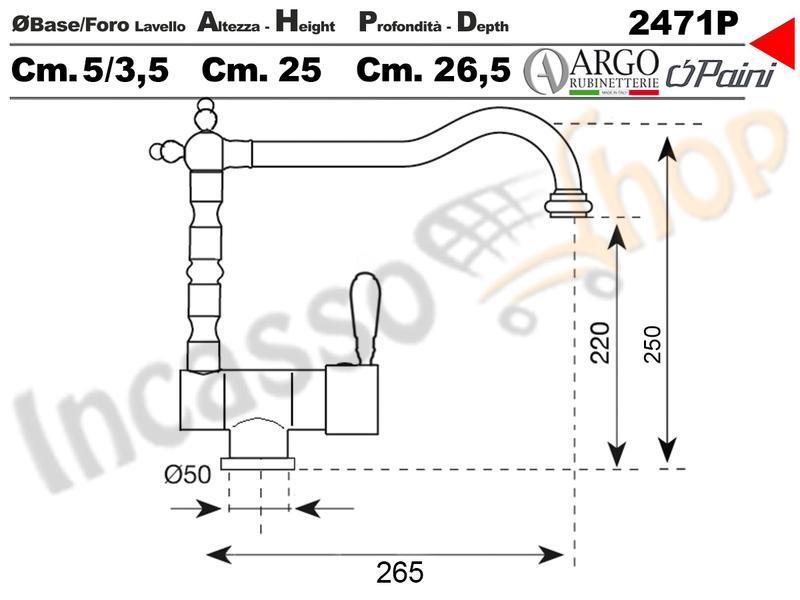 miscelatore rubinetto argo 2471p/lc51u bari avena 51 sabbia antico ... - Muro Angolo Di Montaggio Lavello Singolo Foro Rubinetto