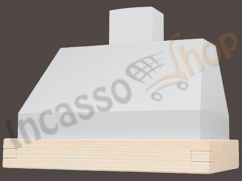 Cappa Cucina Moderna 60 TD306/60AL GR Camilla Alluminio - Legno ...