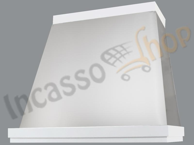 Cappa Cucina Moderna 60 TD314/60BC Diamante Inox / Bianca | Incasso ...